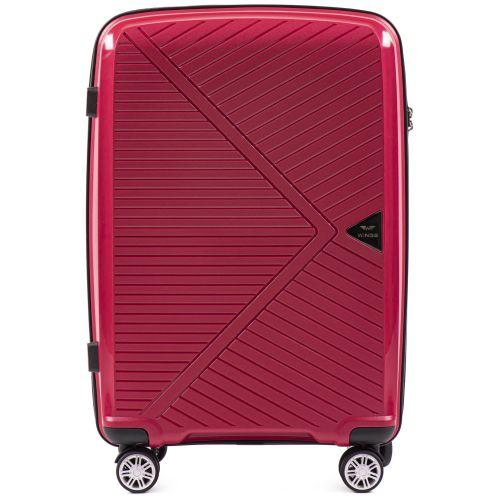 Полипропиленовый чемодан Wings Mallard PP06 средний красный