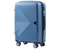 Полипропиленовый чемодан Wings Mallard PP06 средний голубой