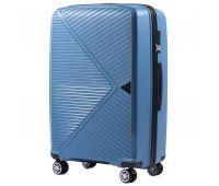 Полипропиленовый чемодан Wings Mallard PP06 большой голубой