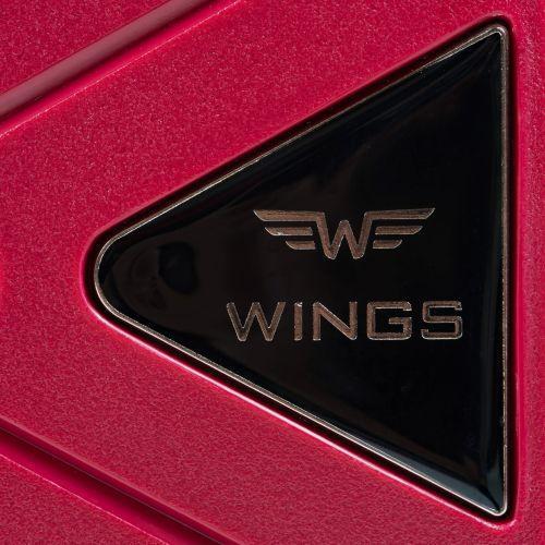 Полипропиленовый чемодан Wings Mallard PP06 большой красный