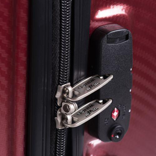 Поликарбонатный чемодан Wings Savanna 185 средний бронзовый