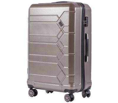 Поликарбонатный чемодан Wings Savanna 185 большой бронзовый