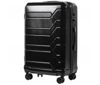 Поликарбонатный чемодан Wings Savanna 185 большой черный