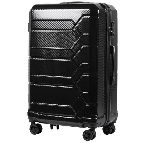Набор чемоданов из поликарбоната Wings Savanna 185 3 штуки черный