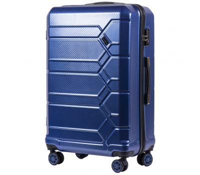 Поликарбонатный чемодан Wings Savanna 185 большой middle blue