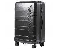 Поликарбонатный чемодан Wings Savanna 185 большой серый