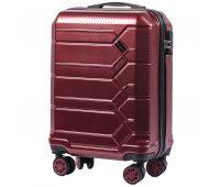 Поликарбонатный чемодан Wings Savanna 185 маленький бордовый