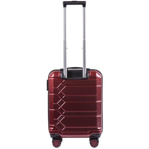 Поликарбонатный чемодан Wings Savanna 185 средний бордовый