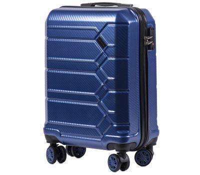 Поликарбонатный чемодан Wings Savanna 185 маленький middle blue