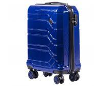 Поликарбонатный чемодан Wings Savanna 185 маленький синий