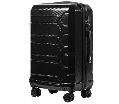Поликарбонатный чемодан Wings Savanna 185 средний черный