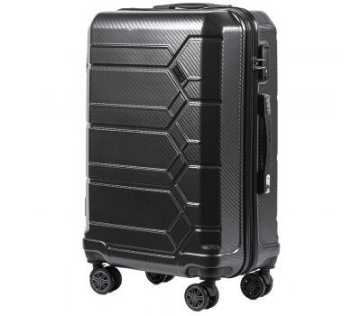 Поликарбонатный чемодан Wings Savanna 185 средний серый