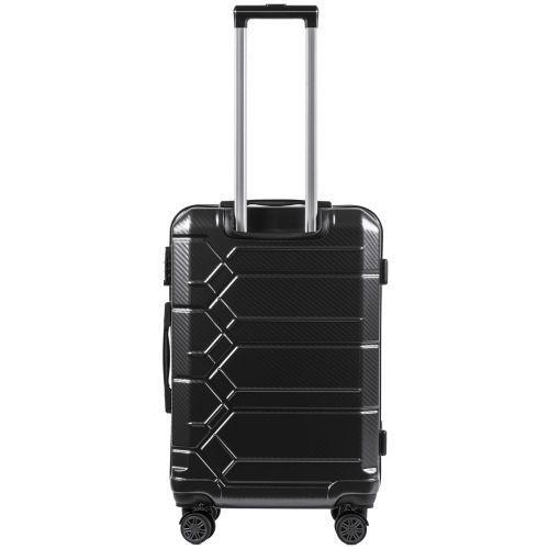 Поликарбонатный чемодан Wings Savanna 185 большой синий