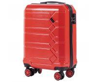 Поликарбонатный чемодан Wings Savanna 185 маленький красный