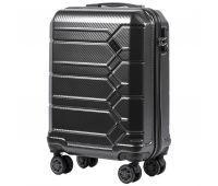 Поликарбонатный чемодан Wings Savanna 185 маленький серый
