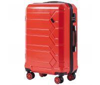 Поликарбонатный чемодан Wings Savanna 185 средний красный