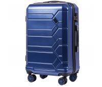 Поликарбонатный чемодан Wings Savanna 185 средний middle blue