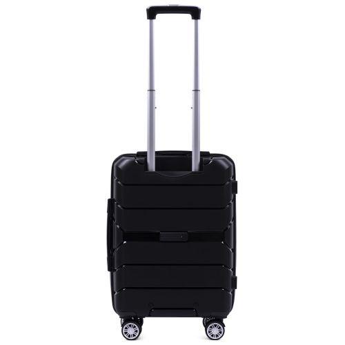 Полипропиленовый чемодан Wings Sparrow PP05 маленький черный