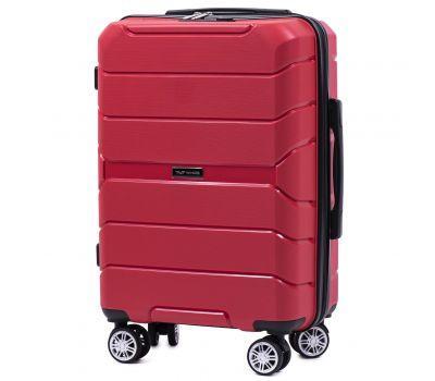 Полипропиленовый чемодан Wings Sparrow PP05 маленький красный