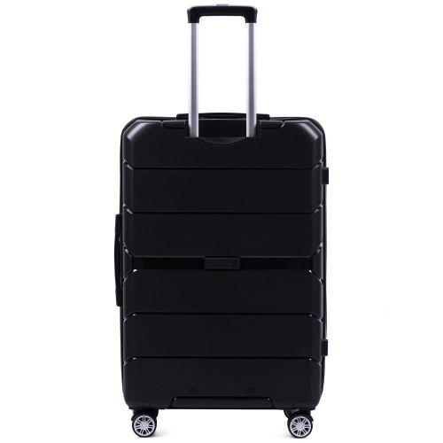 Набор полипропиленовых чемоданов Wings Sparrow PP05 3 штуки черный