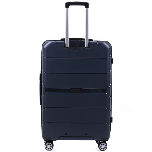 Набор полипропиленовых чемоданов Wings Sparrow PP05 3 штуки синий