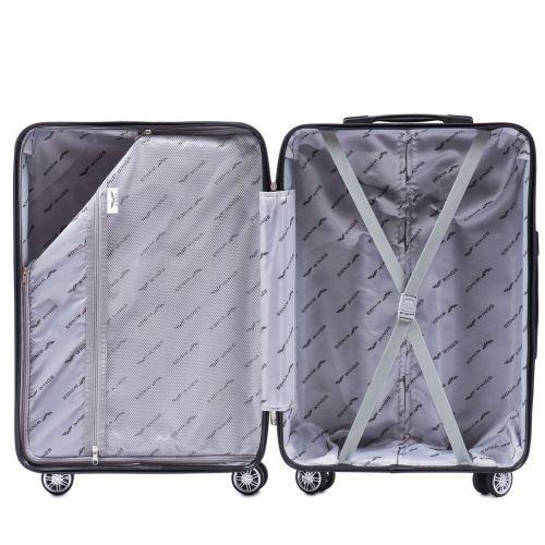 Полипропиленовый чемодан Wings Sparrow PP05 средний красный
