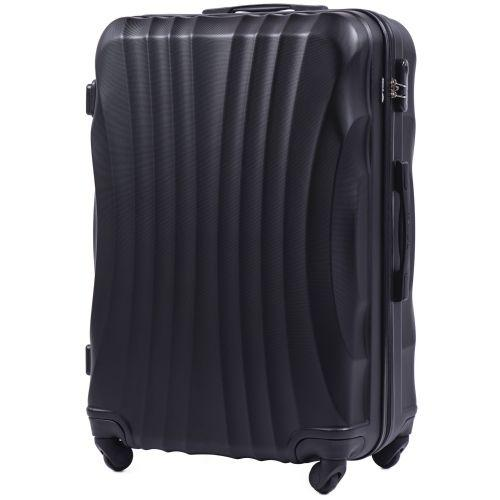 Комплект дорожных чемоданов на колесах Wings Swift 159 4в1 черный