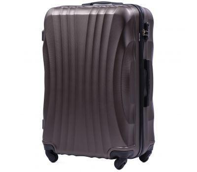 Дорожный чемодан на колесах Wings Swift 159 большой кофейный