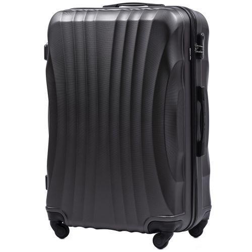 Комплект дорожных чемоданов на колесах Wings Swift 159 3в1 серый
