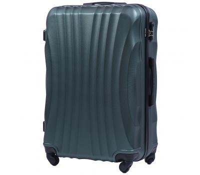 Дорожный чемодан на колесах Wings Swift 159 большой зеленый