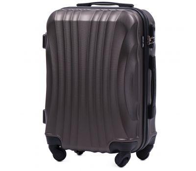 Дорожный чемодан на колесах Wings Swift 159 маленький кофейный