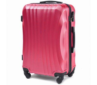 Дорожный чемодан на колесах Wings Swift 159 маленький розовый
