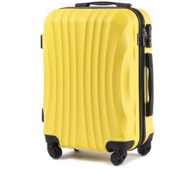 Дорожный чемодан на колесах Wings Swift 159 маленький желтый