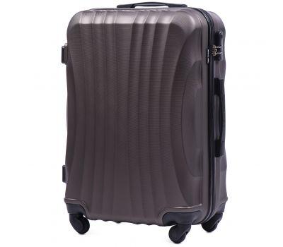 Дорожный чемодан на колесах Wings Swift 159 средний кофейный