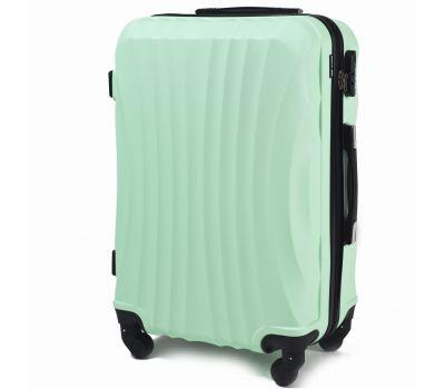 Дорожный чемодан на колесах Wings Swift 159 средний мятный