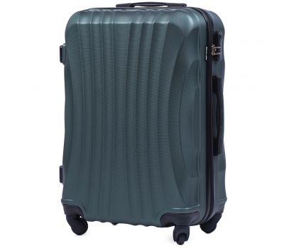 Дорожный чемодан на колесах Wings Swift 159 средний зеленый