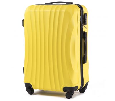 Дорожный чемодан на колесах Wings Swift 159 средний желтый