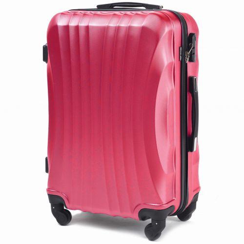 Комплект дорожных чемоданов на колесах Wings Swift 159 4в1 розовый