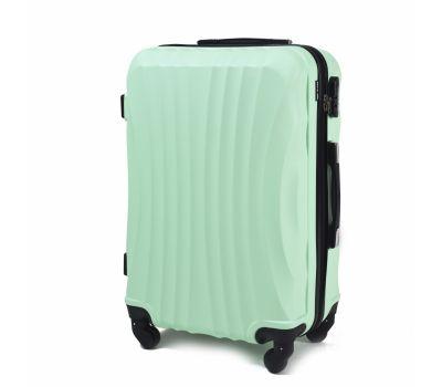 Дорожный чемодан на колесах Wings Swift 159 маленький мятный