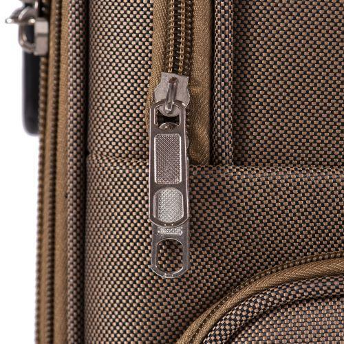 Тканевый чемодан Wings Tawny Owl 1605 средний M на 2 колесах изумрудный
