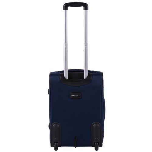 Тканевый чемодан Wings Tawny Owl 1605 маленький S на 2 колесах синий
