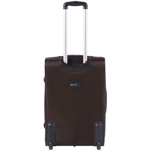 Тканевый чемодан Wings Tawny Owl 1605 средний M на 2 колесах кофейный