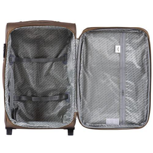 Тканевый чемодан Wings Tawny Owl 1605 средний M на 2 колесах синий