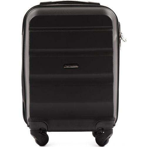 Дорожный чемодан Wings AT01 мини ручная кладь черный