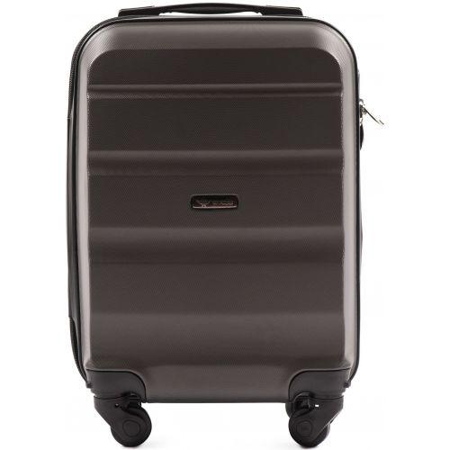 Дорожный чемодан Wings AT01 мини ручная кладь серый