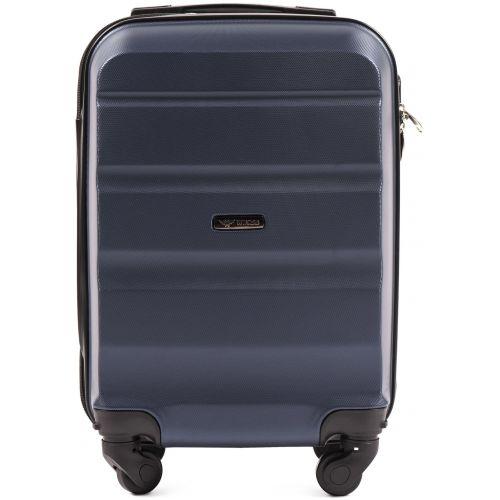 Дорожный чемодан Wings AT01 мини ручная кладь темно-синий