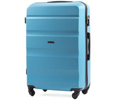 Дорожный чемодан Wings AT01 большой голубой