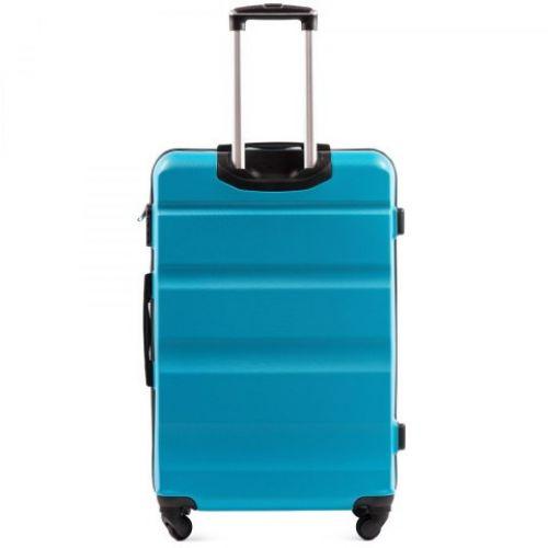 Набор дорожных чемоданов Wings AT01 3 штуки голубой