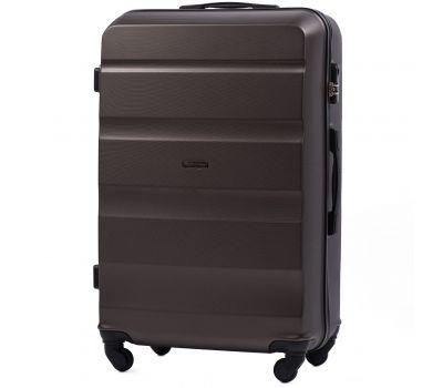 Дорожный чемодан Wings AT01 большой кофейный