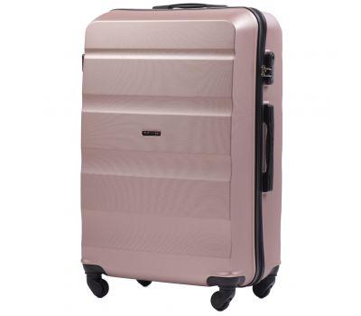 Дорожный чемодан Wings AT01 большой розовое золото